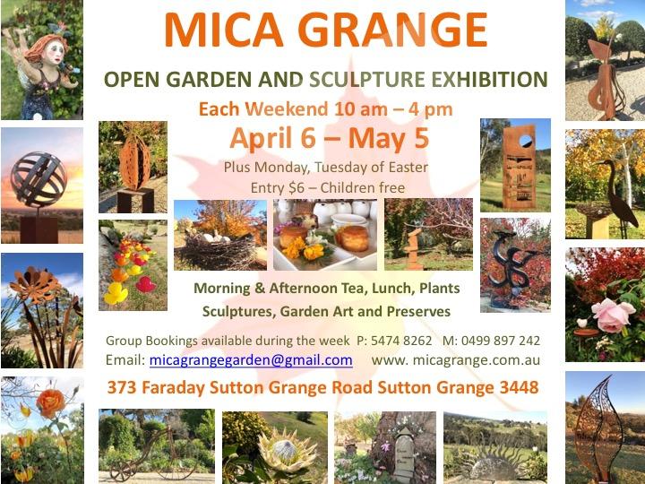 Mica Grange Autumn Open Garden 2019